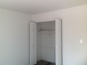 Closet in front bedroom